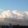 シェービングクリーム雲