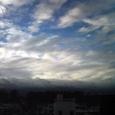 今の…空模様