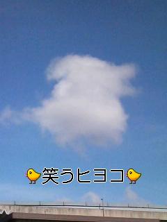 空にヒヨコ♪