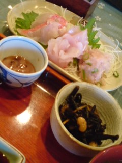 金目鯛…美味い♪