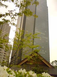 東京ミッドタウンにて