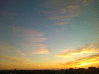 朝がキタ(^-^)