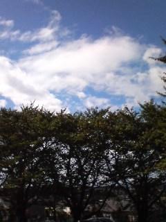 青空が〜雲が〜
