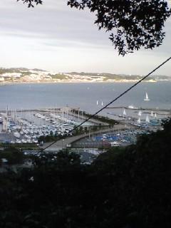 江ノ島からの眺め