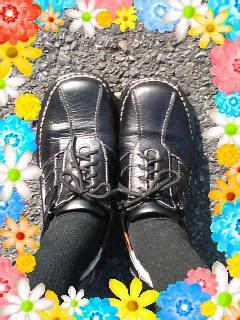 新調したよ〜靴♪