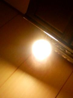 間接照明のあかり