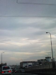 クリーミーな雲