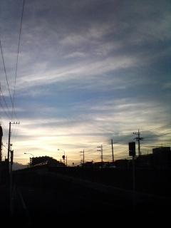 最近の空が好き