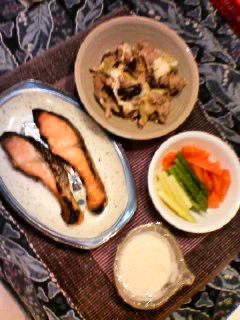 また、晩御飯だよ〜