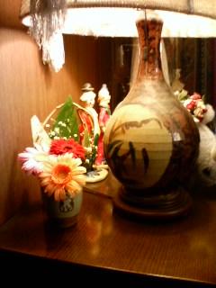 快気祝の花束を…