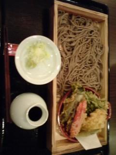 翔…蕎麦食べたよ