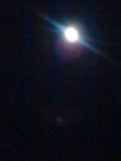 満月ですよ