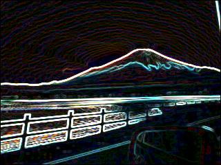 富士山〈ネオン〉