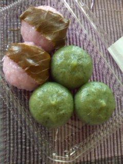 和菓子のおやつ