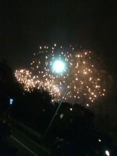 玉川の花火大会