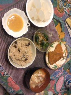 夕飯だよ(*^o^*)
