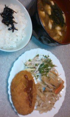 夕飯です♪